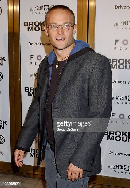 Chad Allen during Focus Features' Brokeback Mountain Los Angeles Premiere Arrivals at Mann National Theatre in Westwood California United States