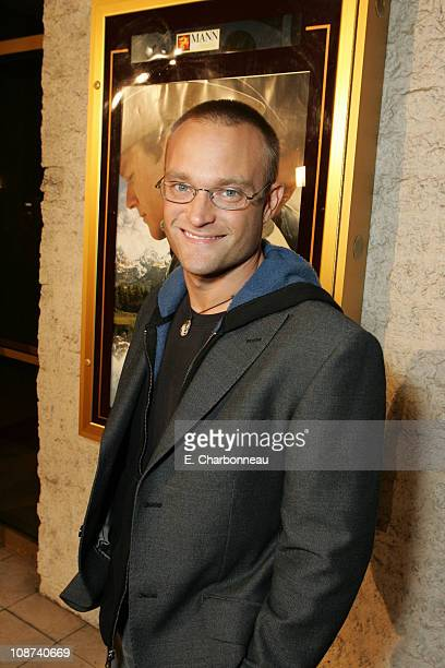 Chad Allen during Focus Features Presents the Los Angeles Premiere of Brokeback Mountain at Mann National Theatre/Napa Valley Grill in Westwood...