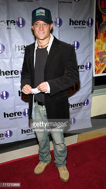 Chad Allen during HellBent Los Angeles Premiere at Regent Showcase Theater in Hollywood California United States