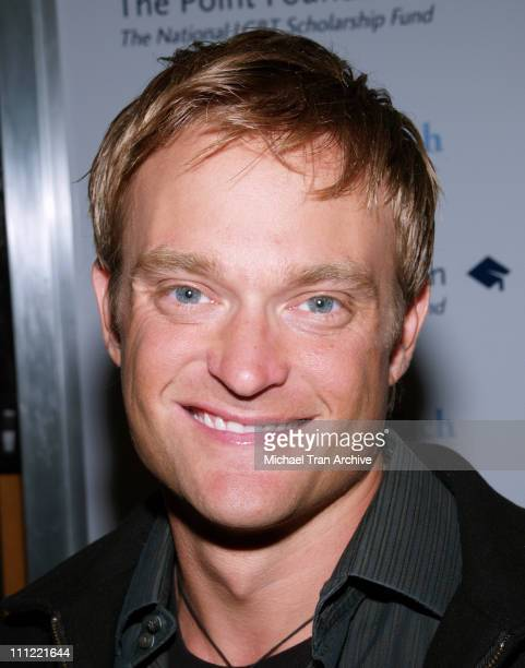 Chad Allen during The Pointer Foundation Host The 1st Annual LGBT Stars of Tomorrow Benefit at DGA in Hollywood California United States
