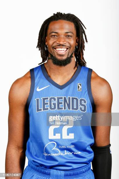 Chad Brown of the Texas Legends poses for a headshot during G League Media Day on November 4 2019 at Comerica Center in Frisco Texas NOTE TO USER...