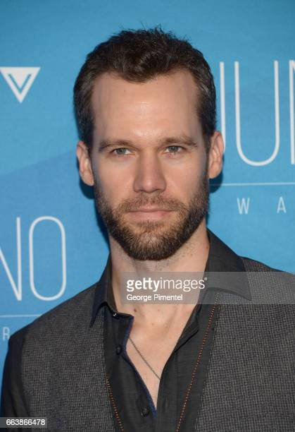 Chad Brownlee arrives at the 2017 Juno Awards at Canadian Tire Centre on April 2 2017 in Ottawa Canada