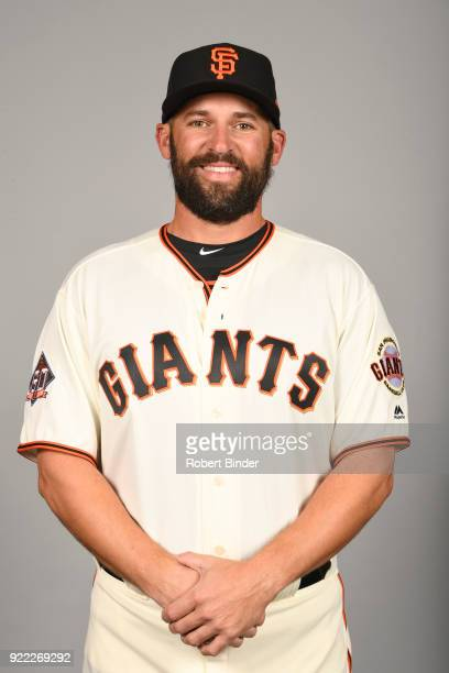 Chad Chop of the San Francisco Giants poses during Photo Day on Tuesday February 20 2018 at Scottsdale Stadium in Scottsdale Arizona