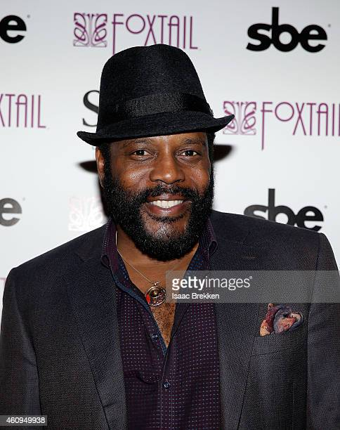 Chad Coleman arrives at a New Year's Eve celebration at Foxtail nightclub at SLS Las Vegas on December 31 2014 in Las Vegas Nevada