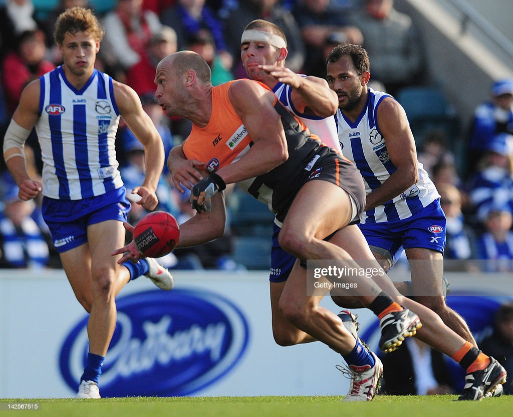 AFL Rd 2 - North Melbourne v GWS