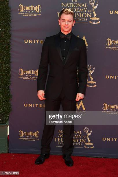 Chad Duell attends the 44th Annual Daytime Emmy Awards at Pasadena Civic Auditorium on April 30 2017 in Pasadena California