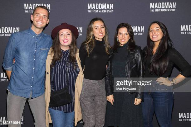 Chad Evans Elani Myers Christine Fink Gabriella Weiser and Francesca Fedele attend the Seattle Premiere of MADDMAN The Steve Madden Story at iPic...