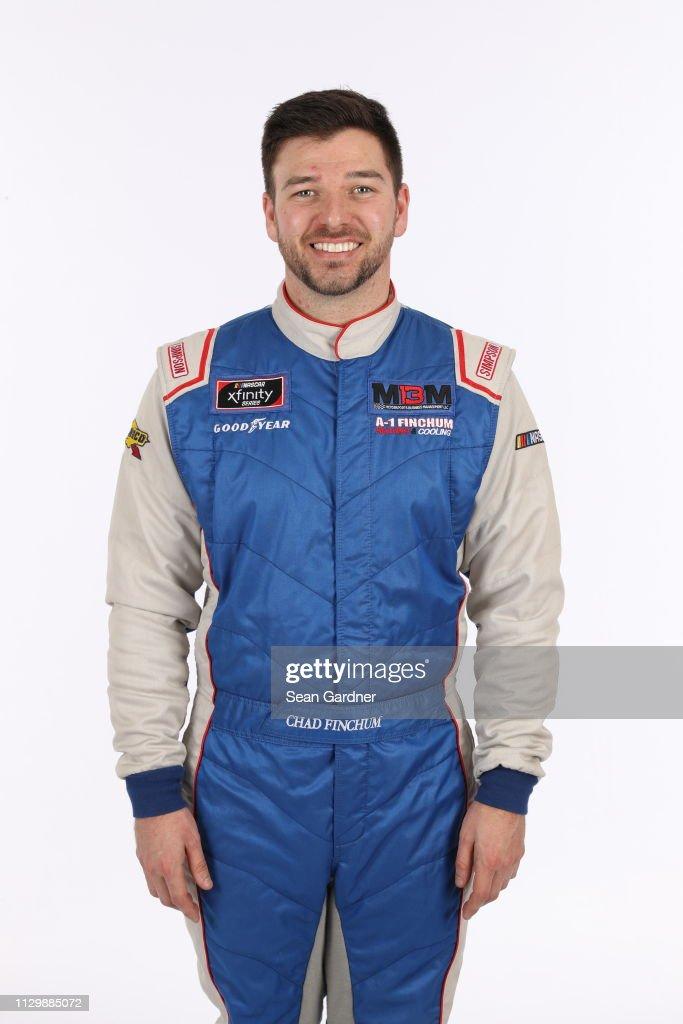NASCAR XFINITY and NASCAR Gander Outdoor Driver portraits : News Photo