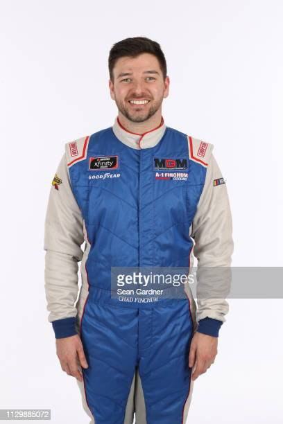 Chad Finchum poses for a photo at Daytona International Speedway on February 14 2019 in Daytona Beach Florida