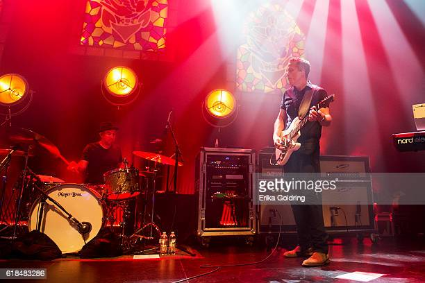 Chad Gambel and Jason Isbell perform at The Joy Theater on October 23 2016 in New Orleans Louisiana