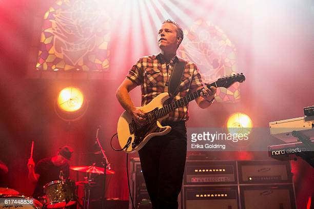 Chad Gamble and Jason Isbell perform at The Joy Theater on October 22 2016 in New Orleans Louisiana