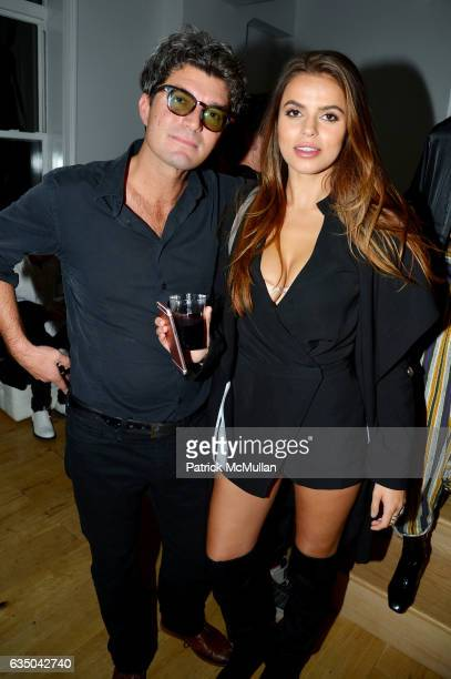 Chad Gavery and Brooks Nader attend Justin Etzin's Birthday Party by Caviar Kaspia at Private Residence on February 11 2017 in New York City