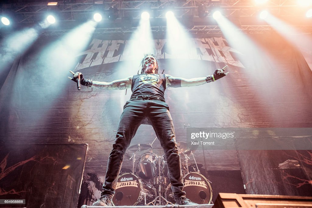 Hellyeah Perform in Concert in Barcelona