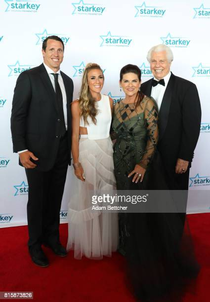 Chad Greenway Jennifer Capista Tani Austin and Bill Austin pose on the red carpet at the 2017 Starkey Hearing Foundation So the World May Hear Awards...