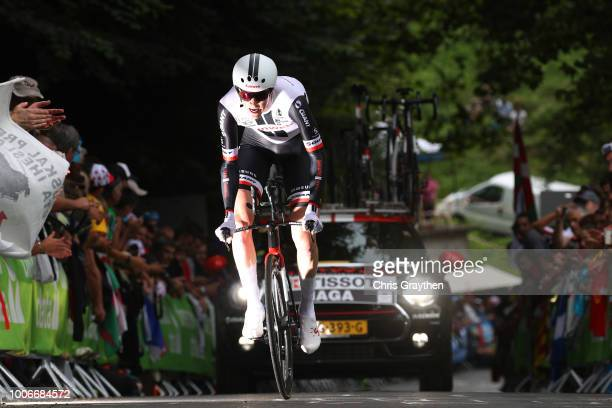 Chad Haga of The United States and Team Sunweb / during the 105th Tour de France 2018, Stage 20 a 31km Individual Time Trial stage from...