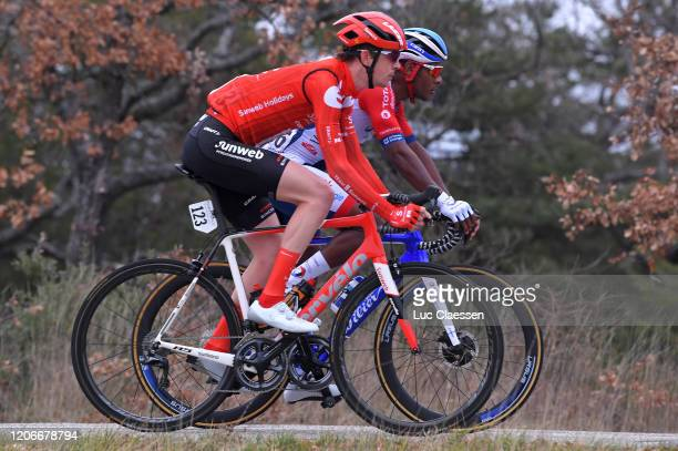 Chad Haga of The United States and Team Sunweb / Lorrenzo Manzin of Italy and Team Total Direct Energie / during the 5th Tour de La Provence 2020,...