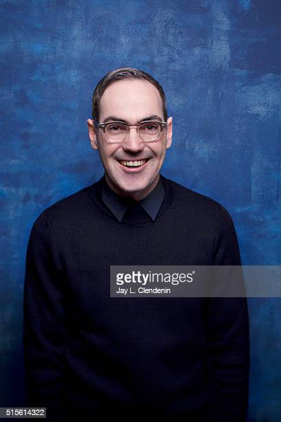 Chad Hartigan of 'Morris From America' poses for a portrait at the 2016 Sundance Film Festival on January 23 2016 in Park City Utah CREDIT MUST READ...