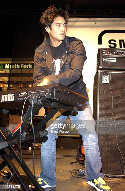 Chad Hugo of NERD during 'Smirnoff Experience' Music Tour Kick Off with NERD New York City at Union Square in New York City New York United States