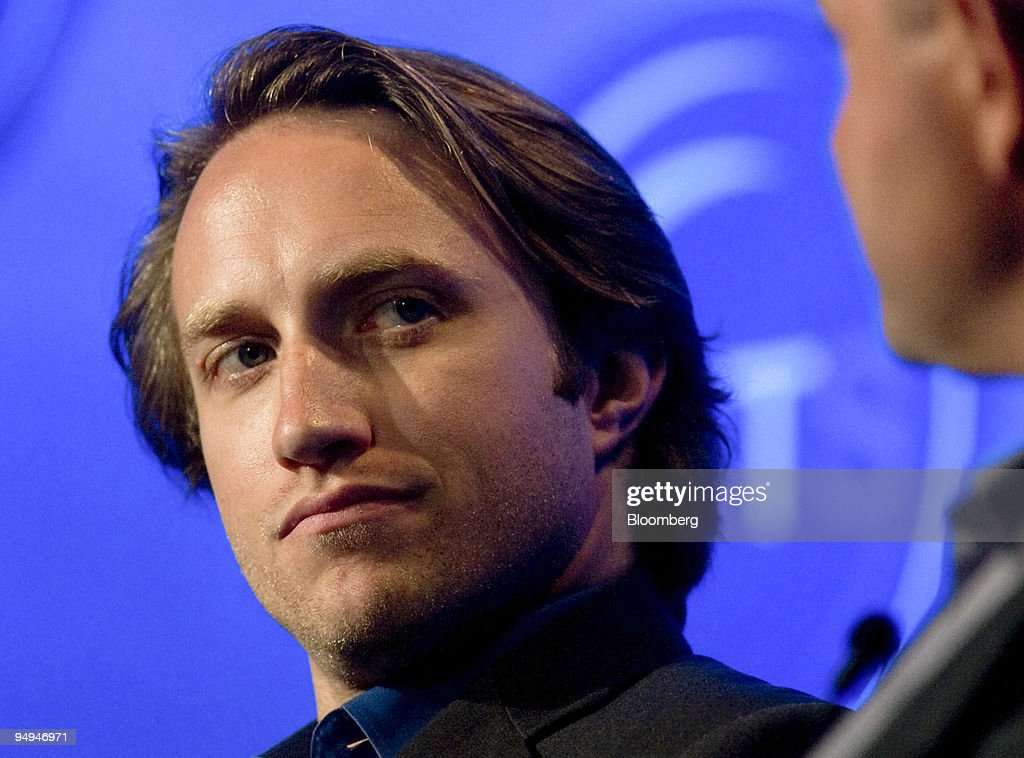 Chad Hurley, co-founder and chief executive officer of YouTu : News Photo