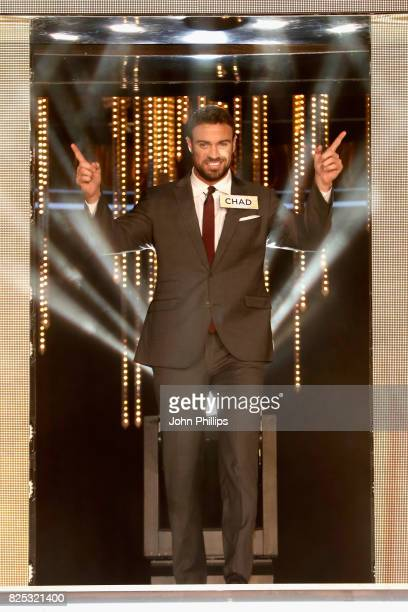 Chad Johnson enters the Big Brother House for the Celebrity Big Brother launch at Elstree Studios on August 1 2017 in Borehamwood England
