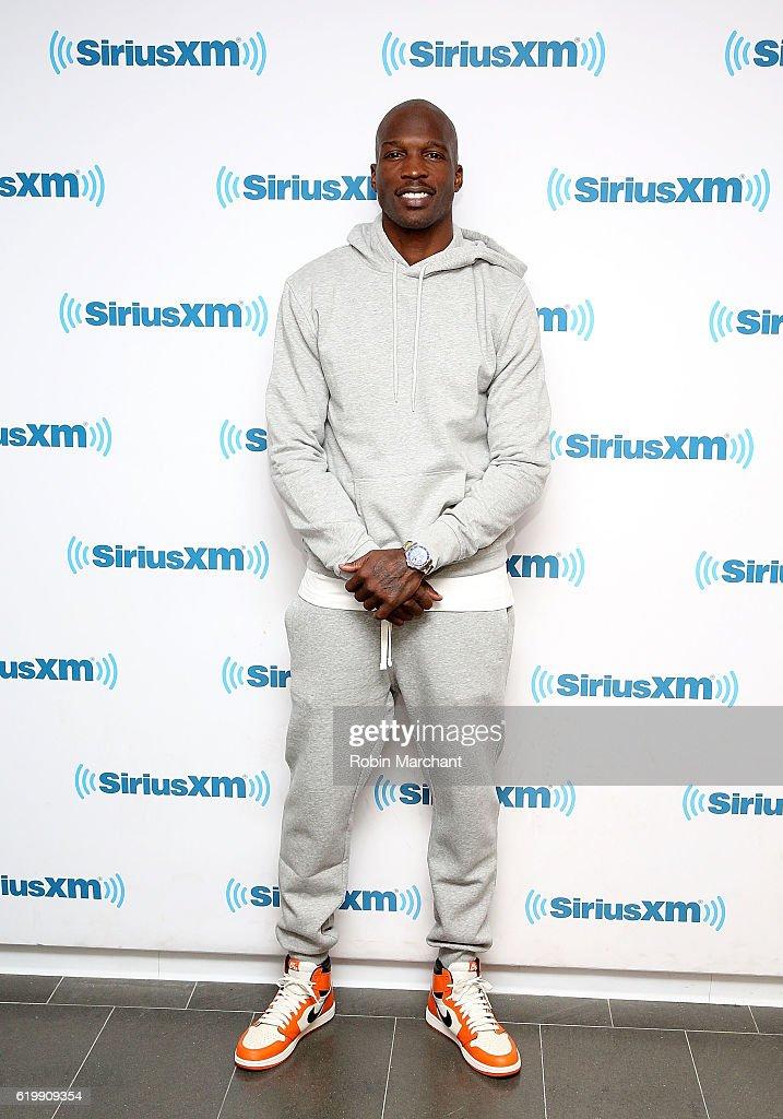 Chad Johnson visits at SiriusXM Studio on November 1, 2016 in New York City.