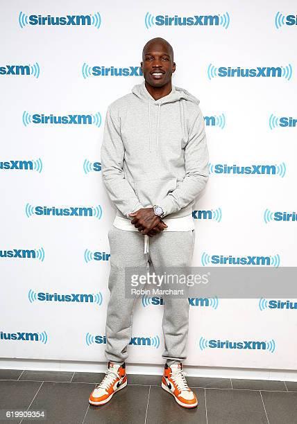 Chad Johnson visits at SiriusXM Studio on November 1 2016 in New York City