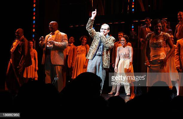 Chad Kimball and the cast of Memphis perform at a special performance of Memphis for Inspire Change presented by Audemars Piguet The Tony Awards...