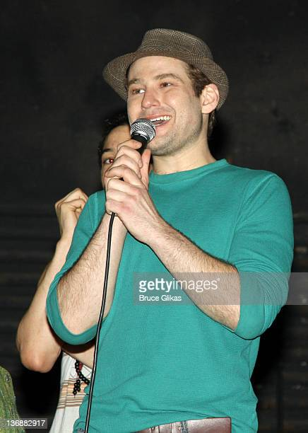 Chad Kimball at a special performance of Memphis for Inspire Change presented by Audemars Piguet The Tony Awards Broadway Cares at Shubert Theatre on...