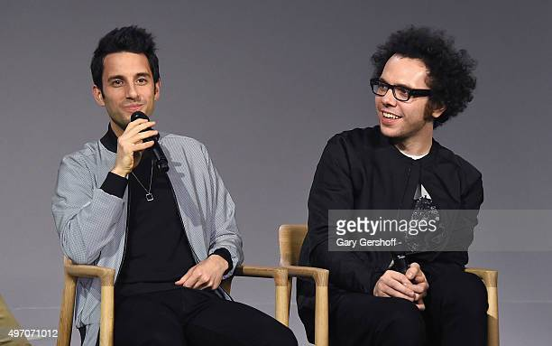 Chad King and Ian Axel of the band A Great Big World attend Apple Store Soho Presents Meet The Musician A Great Big World When The Morning Comes at...