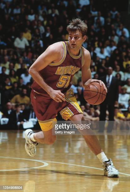 Chad Kolander, Forward for the University of Minnesota Golden Gophers during the NCAA Big Ten Conference college basketball game against the Purdue...