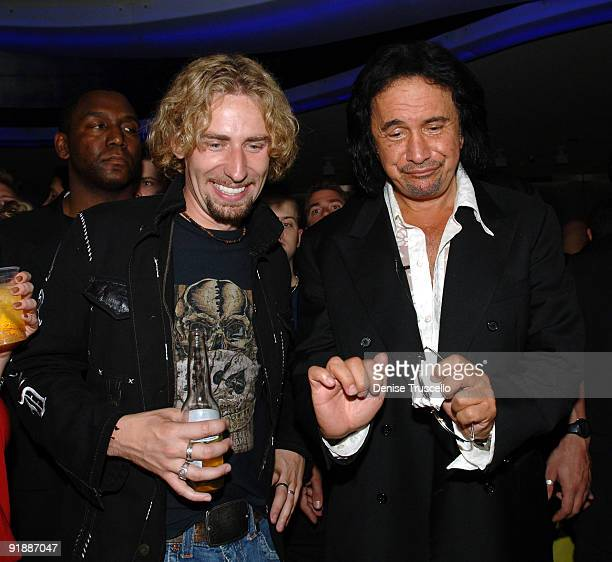 Chad Kroeger and Gene Simmons