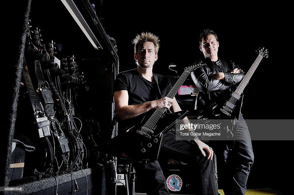 Nickelback Portrait And Equipment Shoot - October 2012