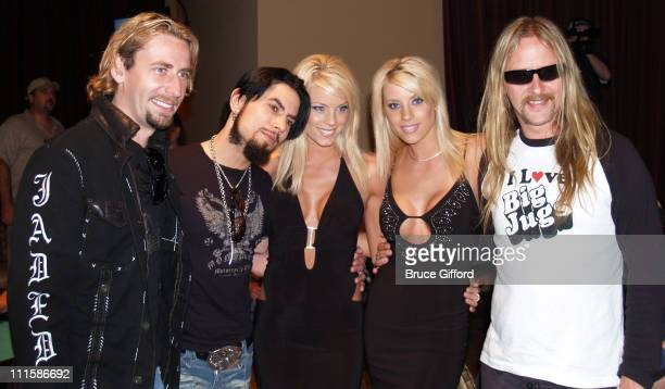Chad Kroeger Dave Navarro Palms Twins and Jerry Cantrell