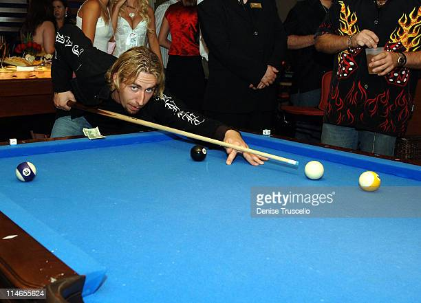 Chad Kroeger during Vegas Rock Star Poker Tournament After Party at The Palms Hotel and Casino Resort in Las Vegas Nevada