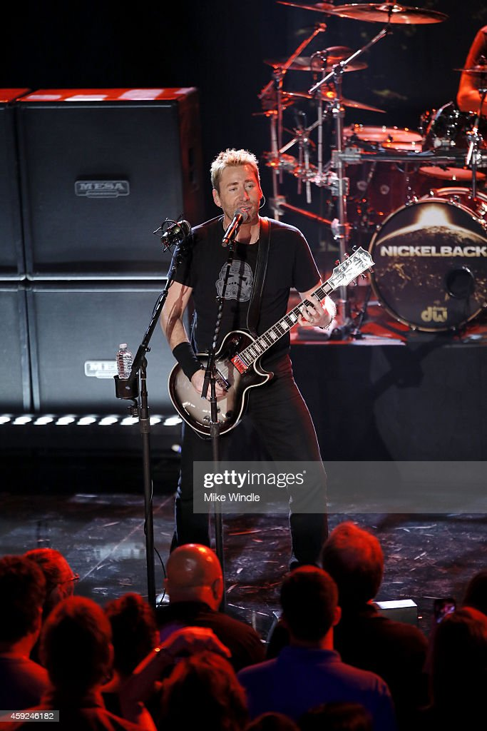 Nickelback Performs Live At The iHeartRadio Theater Los Angeles For iHeartRadio Live