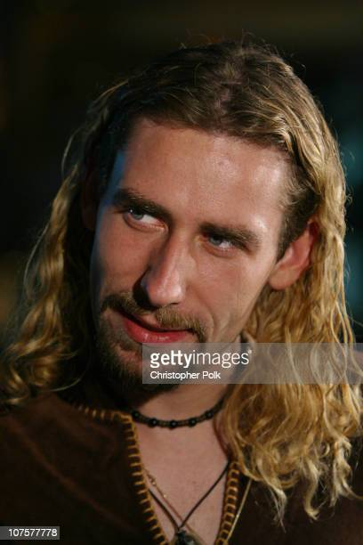 Chad Kroeger of Nickelback during 2002 Fox Billboard Bash Arrivals at Studio 54 inside MGM Grand Casino in Las Vegas NV