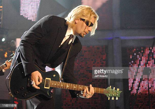 Chad Kroeger of Nickelback during 2007 VH1 Rock Honors Show at Mandalay Bay in Las Vegas Nevada United States