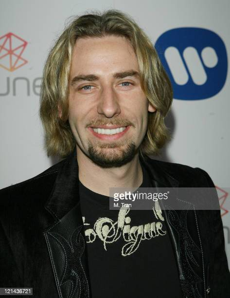 Chad Kroeger of Nickelback during 49th Annual GRAMMY Awards Warner Music Group After Party at The Cathedral in Los Angeles California United States