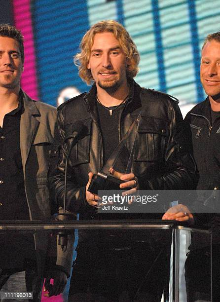 Chad Kroeger of Nickelback winners of Favorite Album Pop/Rock for 'All the Right Reasons'