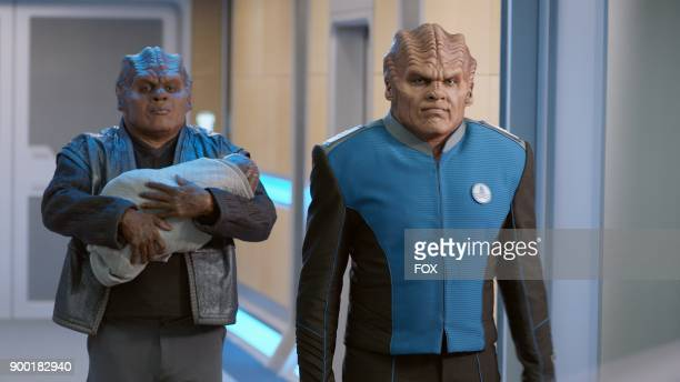 Chad L Coleman and Peter Macon in the About a Girl time period premiere episode of THE ORVILLE airing Thursday Sept 21 on FOX