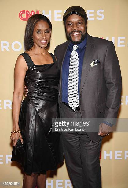 Chad L Coleman attends the 2014 CNN Heroes An All Star Tribute at American Museum of Natural History on November 18 2014 in New York City...