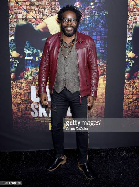 """Chad L. Coleman attends the Los Angeles Premiere Of HBO's Documentary Film """"United Skates"""" at Avalon Hollywood on February 6, 2019 in Los Angeles,..."""