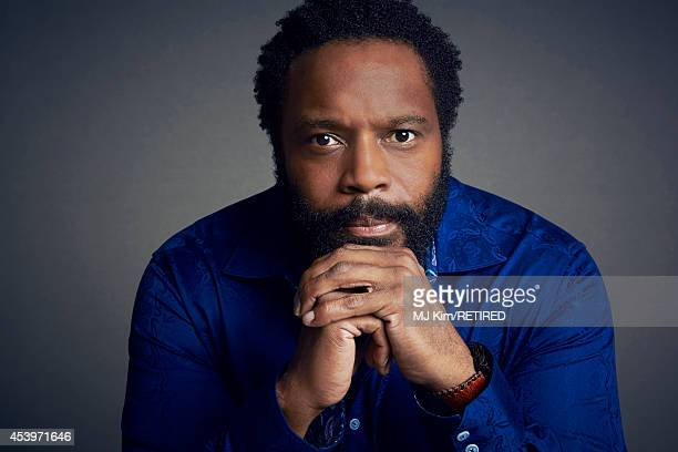 Chad L. Coleman poses for a portrait at the Getty Images Portrait Studio powered by Samsung Galaxy at Comic-Con International 2014 on July 24, 2014...