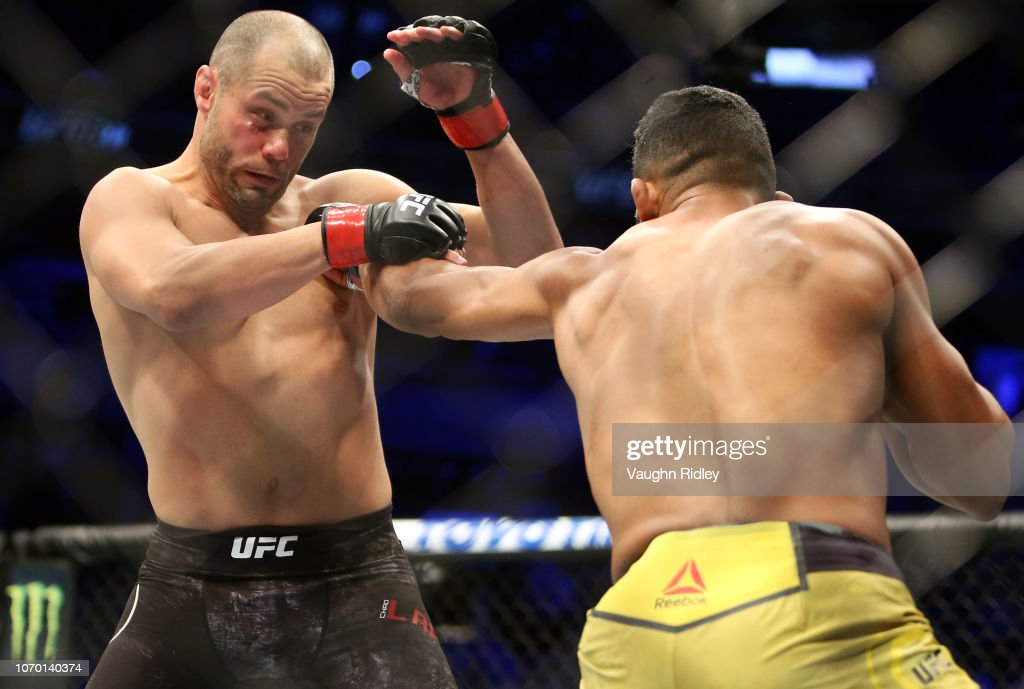 UFC 231 Laprise v Lima : News Photo