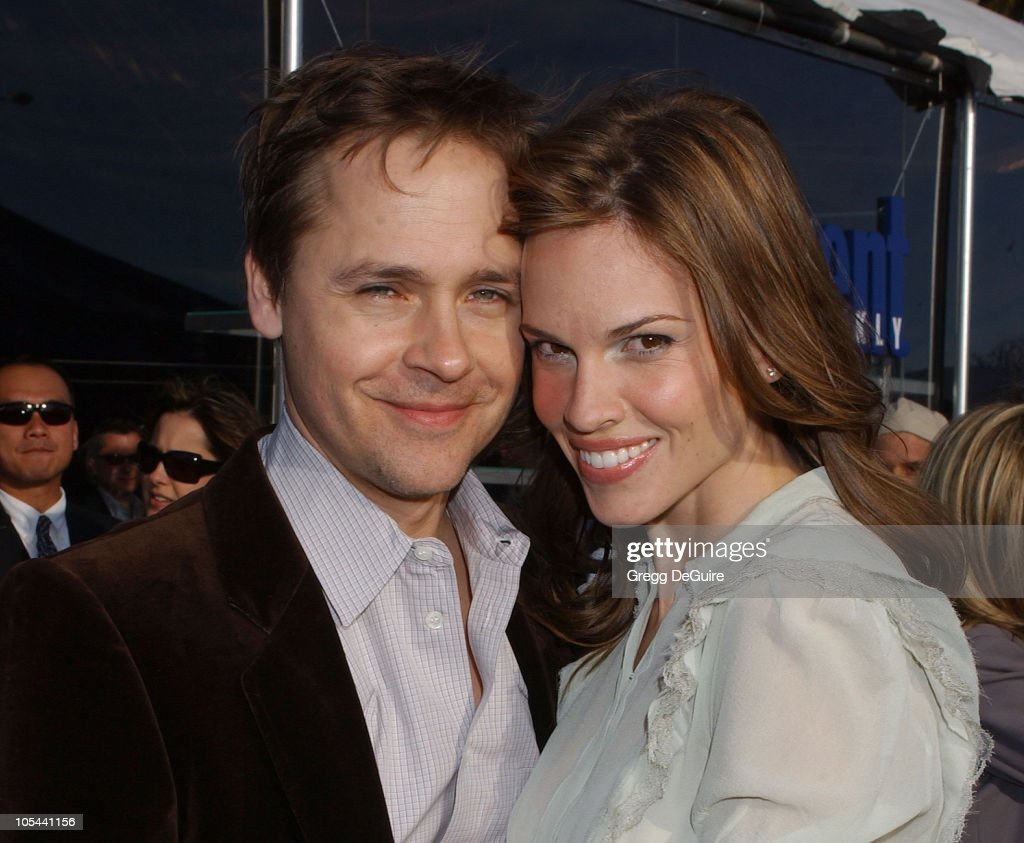 Chad Lowe and Hilary Swank during The 19th Annual IFP Independent Spirit Awards - Audience and Backstage at Santa Monica Pier in Santa Monica, California, United States.