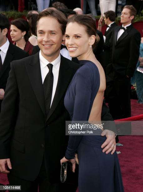 Chad Lowe and Hilary Swank nominee Best Actress in a Leading Role for 'Million Dollar Baby'