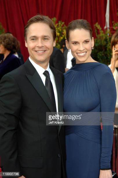 """Chad Lowe and Hilary Swank nominee Best Actress in a Leading Role for """"Million Dollar Baby"""""""