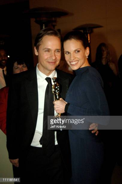Chad Lowe and Hilary Swank winner Best Actress in a Leading Role for Million Dollar Baby