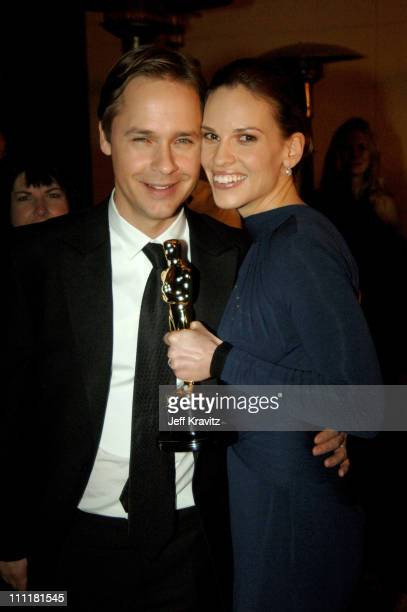 Chad Lowe and Hilary Swank winner Best Actress in a Leading Role for 'Million Dollar Baby'