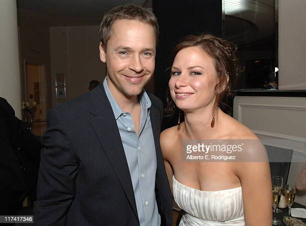 Chad Lowe and Mary Lynn Rajskub during Fox Searchlight's 2007 Golden Globe After Party in Los Angeles California United States